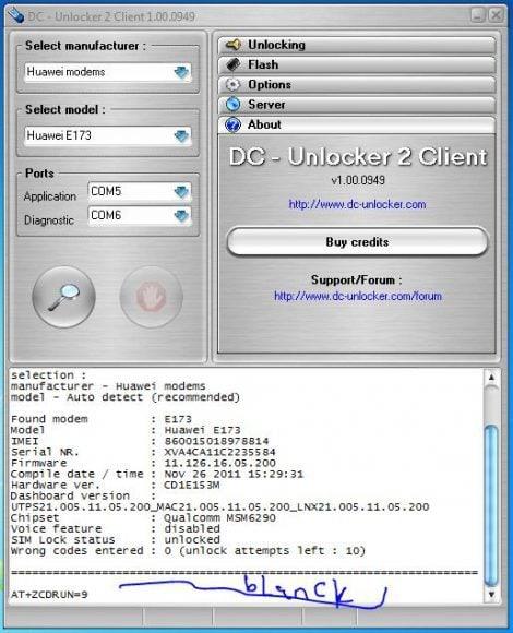 Enable virtual cd autorun for zte modems