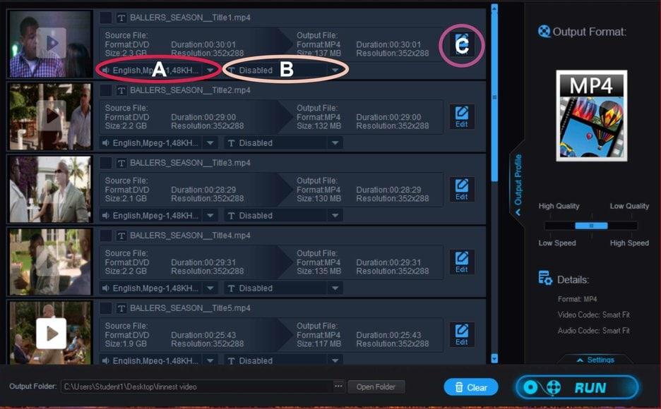 WonderFox DVD Ripper Pro Tweaks