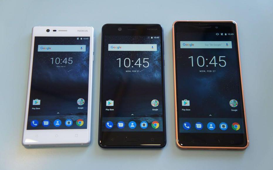 Nokia 3 5 and 6