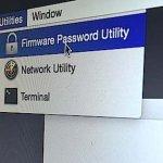 Apply a Firmware Password
