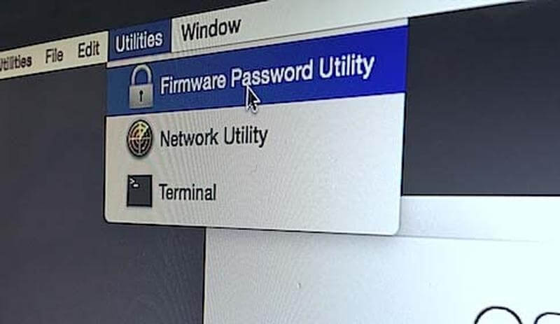 Apply a Firmware Password