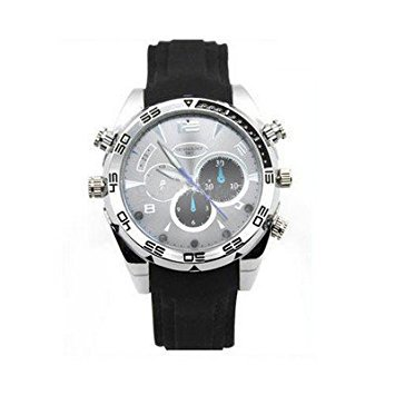 007-Watch 8GB HD 1080P Waterproof Spy Camera Watch