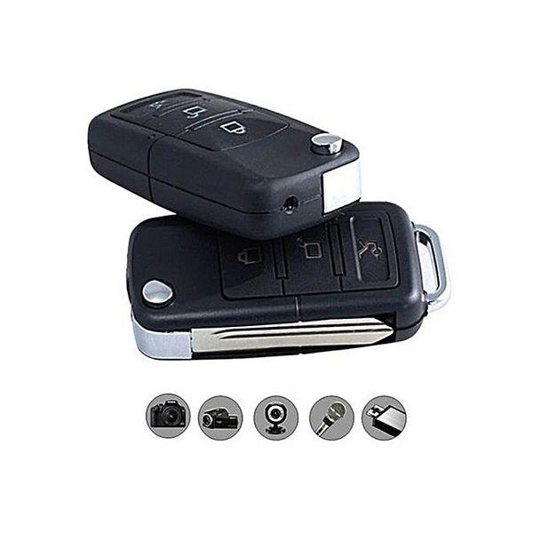 Bluelans Mini Hidden Camera Car Key Chain