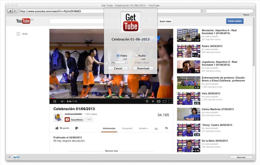 Get Tube video downloader for mac
