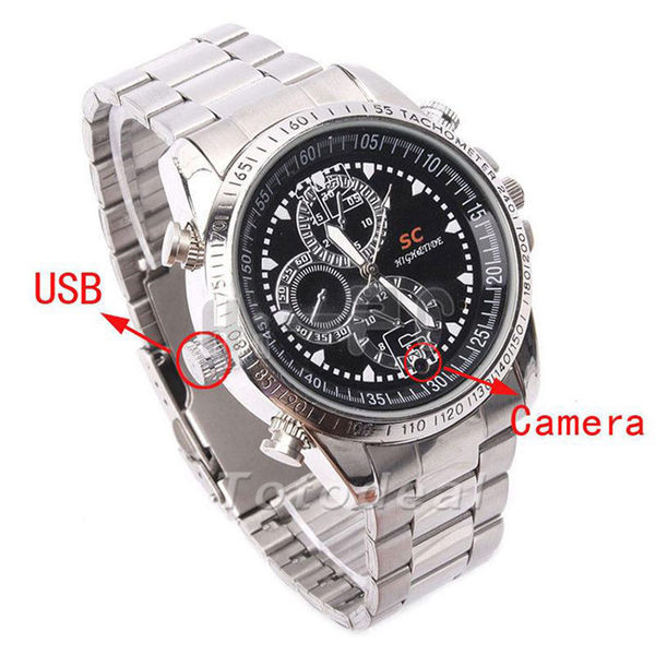 Spy HD Video Wrist Watch Camera