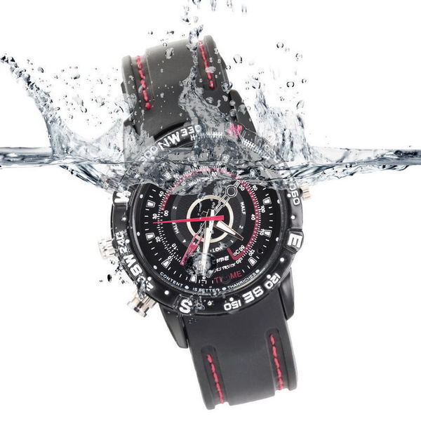 Waterproof 8GB Spy camera Watch DVR Video Recorder