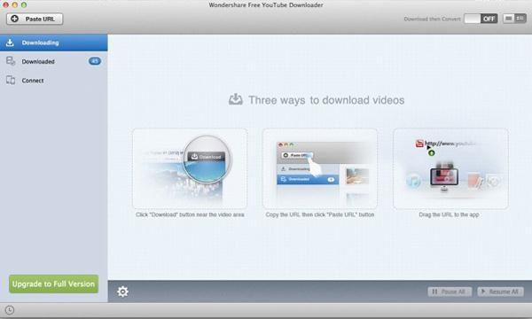 Wondershare free youtube downloader