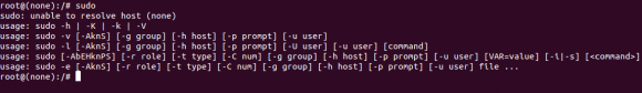 fix Sudo unable to resolve host error