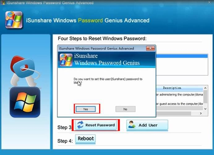 how to do windows password recovery in 2019