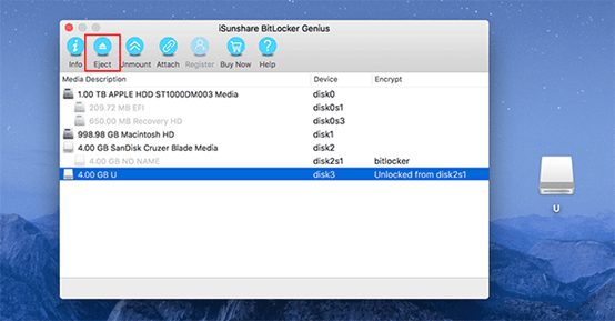 Open BitLocker Encrypted Drive on Mac OS X