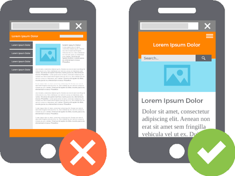 optimize for mobile browsing