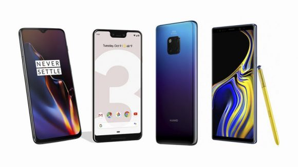 Flagship Android devices of 2019