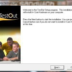 Download Testout:  A  PC hardware & Networking Tutorial Video Software
