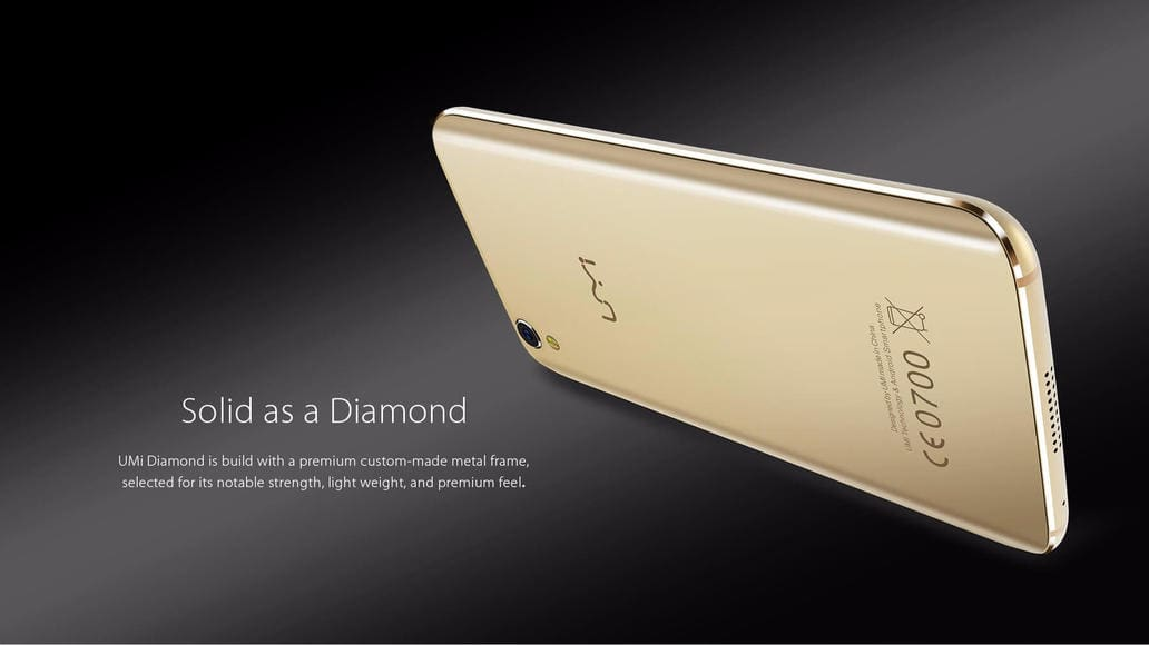 UMI diamond android smartphone